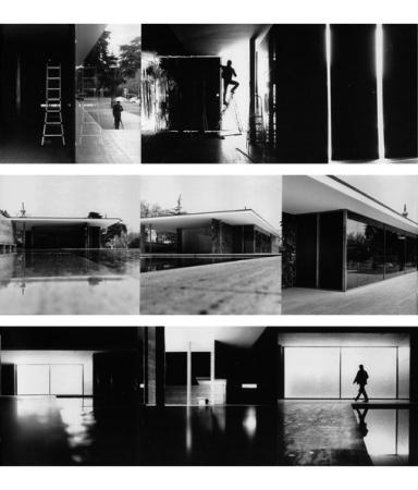 st nop d 39 architecture pavillon mies van der rohe barcelone label impatience jerome schlomoff. Black Bedroom Furniture Sets. Home Design Ideas