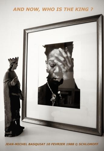 jean-michel basquiat, schlomoff, jean-luc piété, portrait